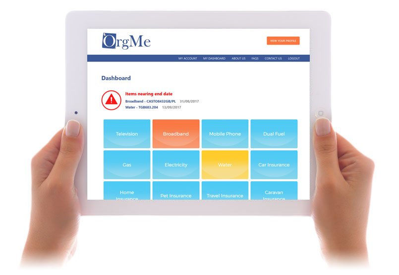 Orgme website image