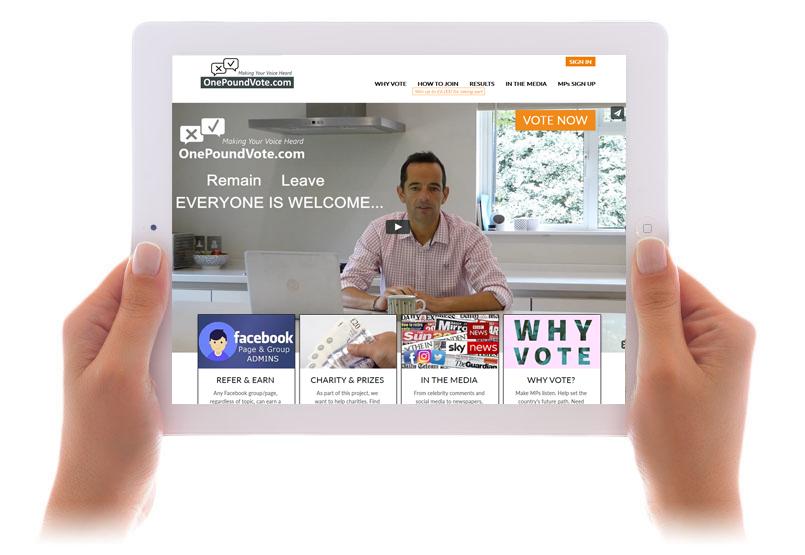 onepoundvote.com