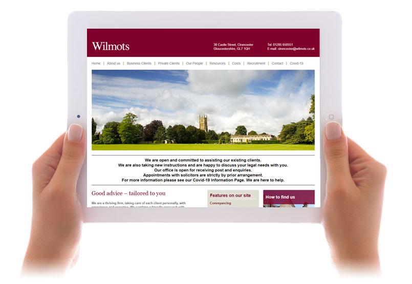 Wilmots website
